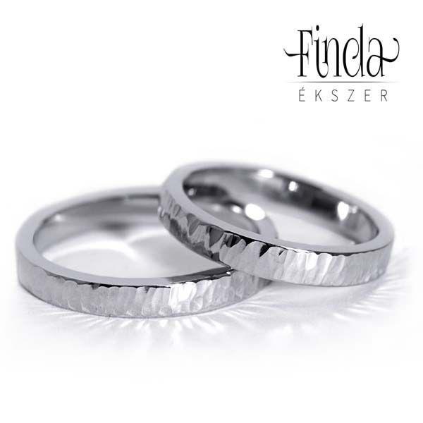 Aura nemes acél karikagyűrű