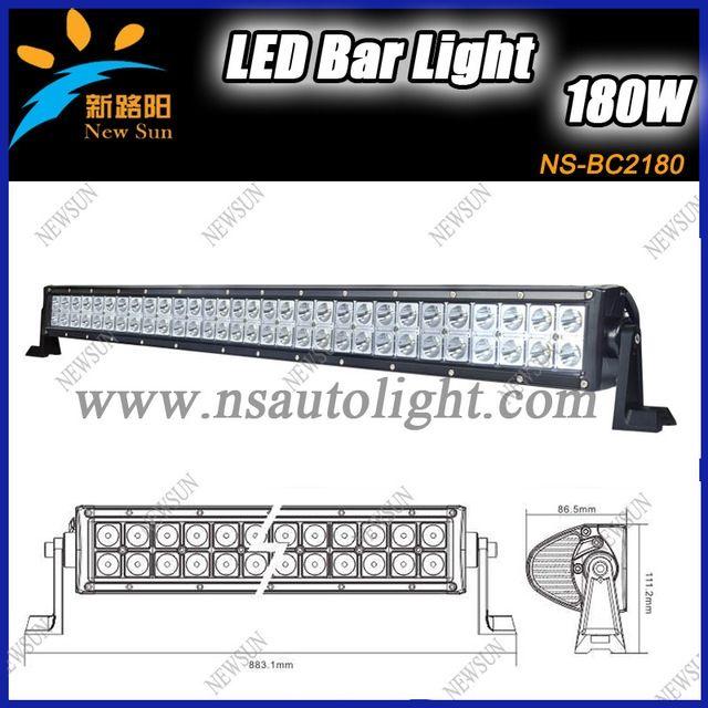 430.00$  Watch here - http://alii6r.worldwells.pw/go.php?t=1043084435 - 2 piece/lot 180W led off road light bar,12V / 24V 31.5 '' mining light bar 4x4 accessories,rigid led light bar for car 430.00$