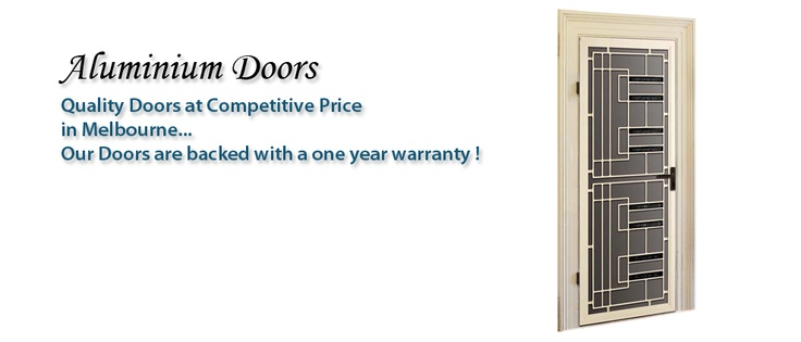 Our Aluminium security doors are made of 70mm wide frame which can be fitted with any colonial casting iron grilles or steel grilles and steel meshes. Our door prices include Austral door closers and locks. We also have the option of fitting a triple door lock if required at an extra small charge.