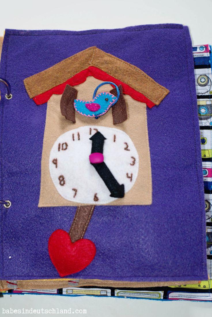 Babes in Deutschland, cuckoo clock quiet book page