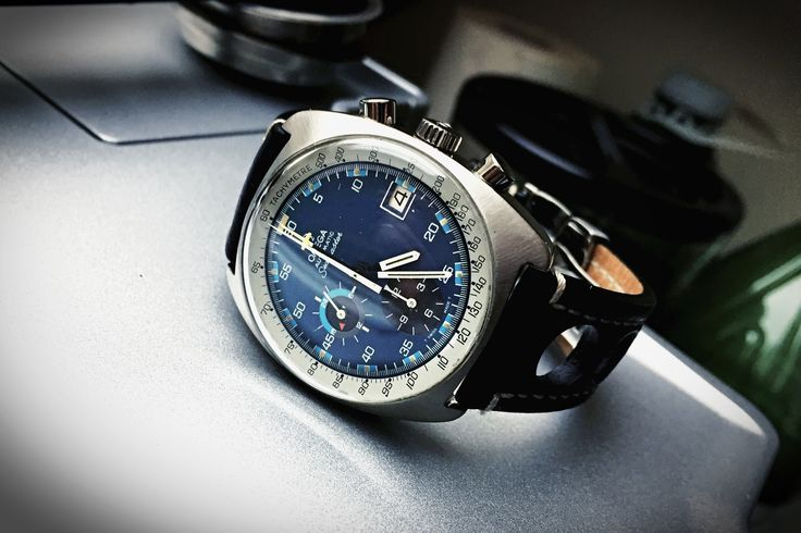 Omega Seamaster Ref 176.007 circa 1973. #omega #seamaster #chronograph #watch #vintage