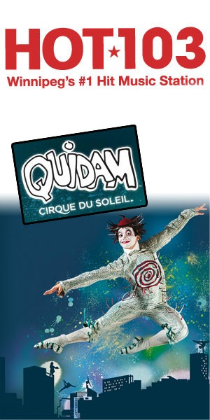 Re-pin this image to be entered to win 4 tickets to Cirque du Soleil Quidam, coming July 19th to 22nd at the MTS Centre.