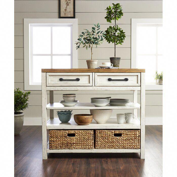 Trisha Yearwood Home Collection Trisha Yearwood Home Country Line Kitchen Island Wayfair C Mueble Auxiliar Cocina Diseno Muebles De Cocina Muebles De Cocina