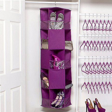 Exceptionnel Joy Mangano Huggable Hangers® Closet Caddy