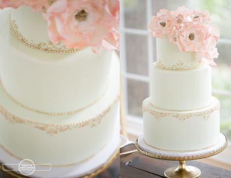 Wedding Cake Prices Cheap Blush Pink