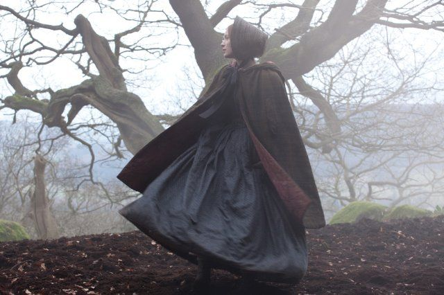 This shot from Jane Eyre has such a Victorian fairy tale feel to it, doesn't it?