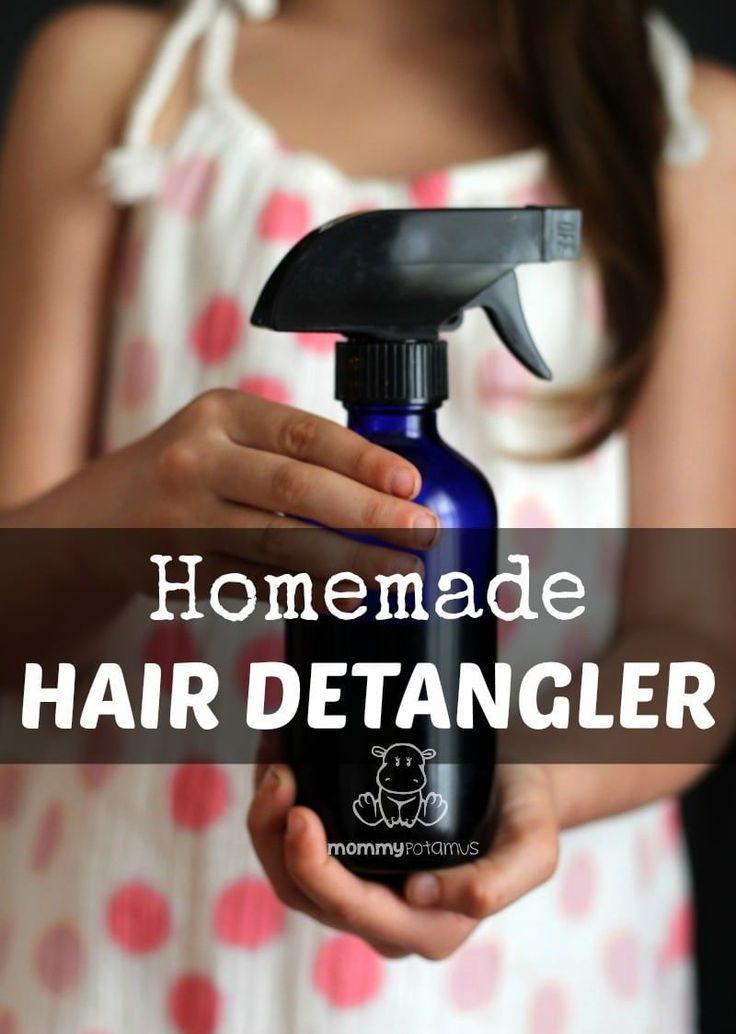 3 Homemade Hair Detangler Recipes