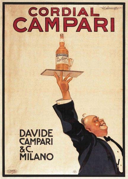 Luigi Caldanzano (1880-1928) – Cordial Campari (1920)