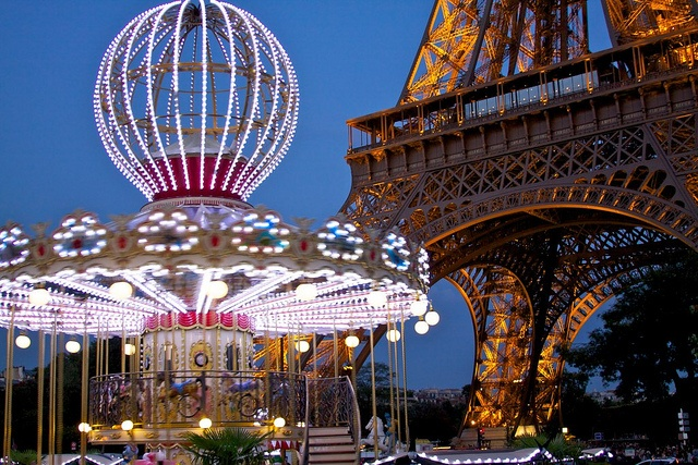 Carousel and Eiffel, 2011