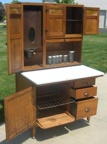 wilson kitchen cabinet hoosier 1