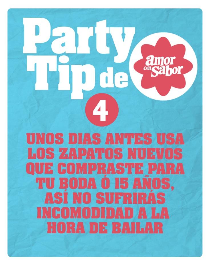 Party tip 4. De la vestimenta de la fiesta