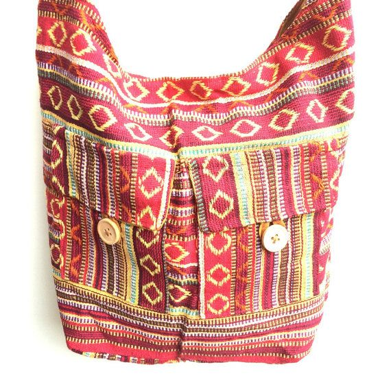 Aztec Shoulder Bag by SuperCoolCreations on Etsy
