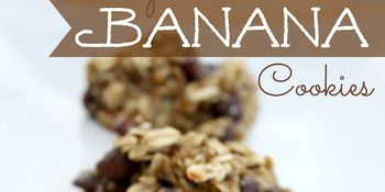 Skinny Banana Cookies --substitute raisins for the chocolate chips??