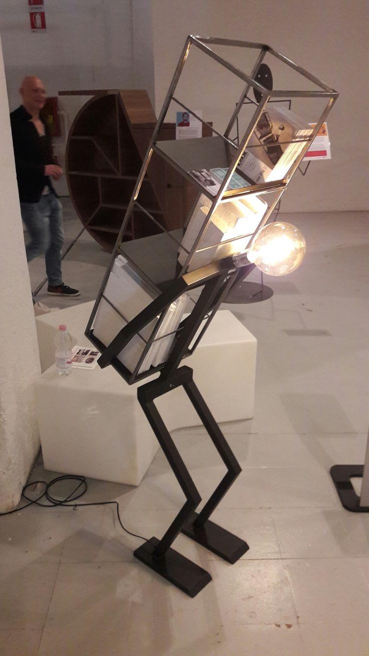#Milan design week #superstudio #scultura luminosa #ebay #portariviste