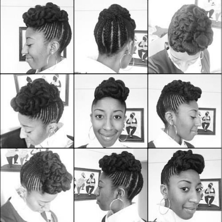 how to take care of my natural hair in braids