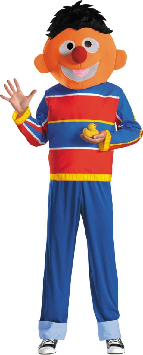 Muppets Ernie Costume for Adults