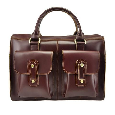 Women's Leather REDDISH BROWN LEATHER HANDBAG