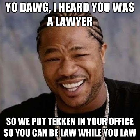 Lawyer memes meets video game memes #lawyermemes #tekken