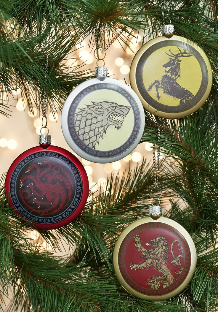 Dame of Thrones Ornament Set