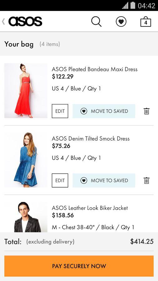 ASOS- screenshot