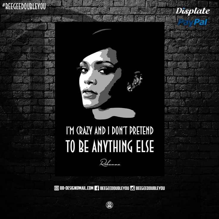 Rihanna on Poster! @Displate  #black #popart #collection #studio #hiphop #quotes #hiphopart #tyga #mancave #wizkhalife #discount #snoopdogg #awesome #thegame #biggiesmalls #movies #displate #tupacshakur #geeks #displates #quote #posters #hiphop #future #worldstar #movie #fanart #sayings #hiphoplegends #urban #natedogg #hiphopheads #hiphophead #hiphopquotes #dmx #westcoast #eastcoast #50cent #machinegunkelly #kendricklamar #stoney #420 #drake #rap #street #designs #designer #webshop #rihanna