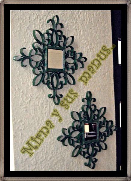 ME GUSTA RECICLAR....3 Ideas para decorar reciclando