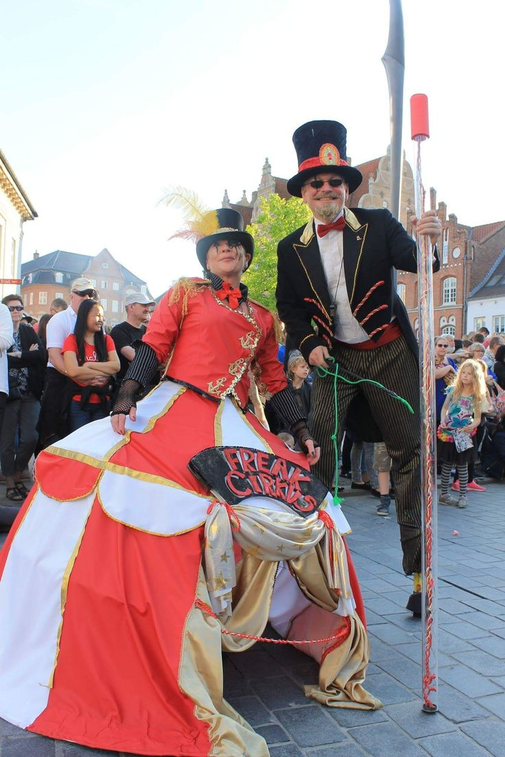 KarnevalsKoloritterne. Freak Circus.