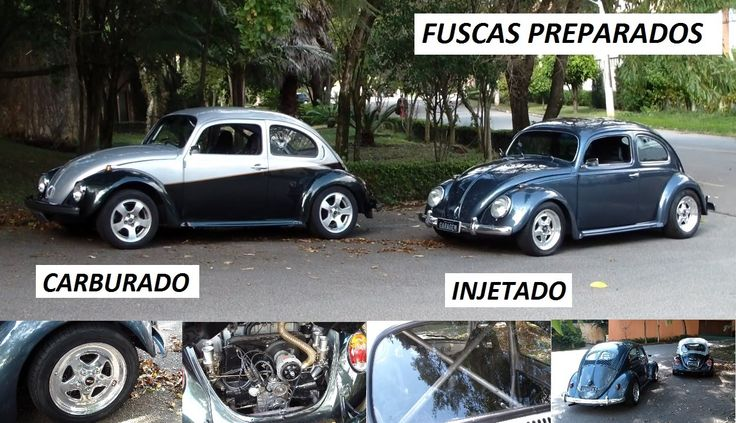 Garagem do Bellote TV: Fuscas preparados (HIS e Weber 40)
