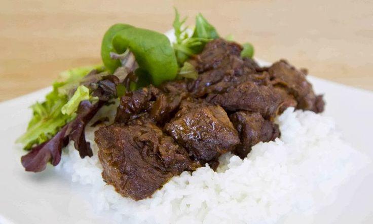 Sri Lankan Tasty Recipes: BLACK PEPPER BEEF STEW