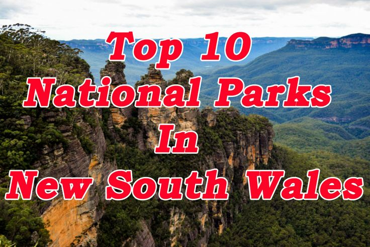 My pick of the Top 10 National Parks in New South Wales i've seen to date.