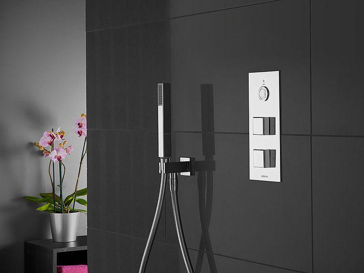 #interior #roomset #shower #creativephotography #inhouse #setbuild #londonstudio #interiordesign #darkdesign #darkbathroom #bathroom #showersystem #bathroomideas #blacktiles #interior
