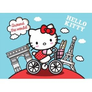 Hello Kitty faltapéta (160 x 115 cm)