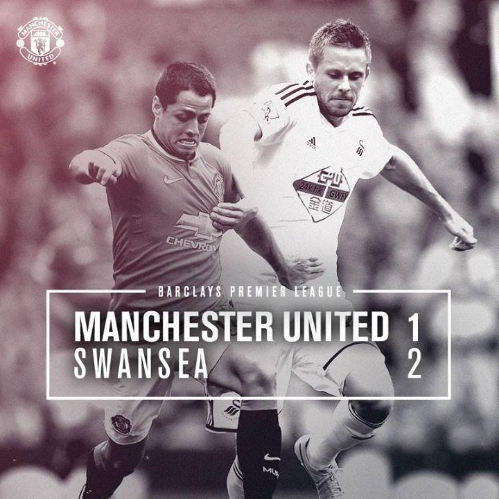 Barclays Premier League Match 1 :  MU 1-2 Swansea  (Rooney 53'/Ki 28', Sigurdsson 72')  16 August 2014 - Old Trafford