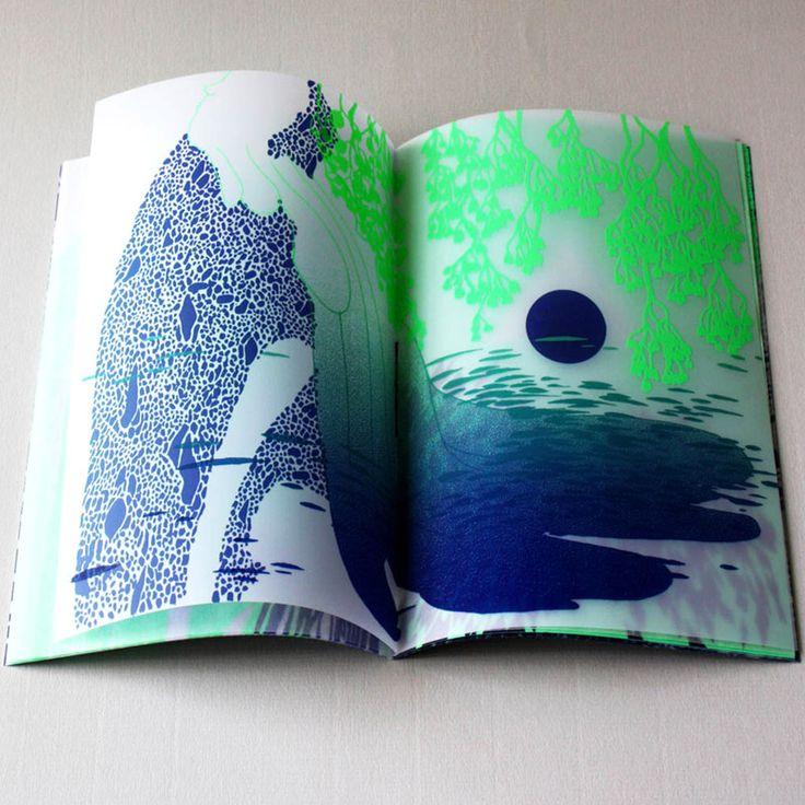 Stéphanie Cazaentre et Juliette Vivier, 2014 Sérigraphie, phase 4 du projet Conflit
