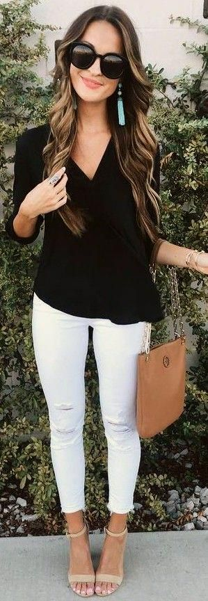 Perfect outfit for a chilly summer morning - Miladies.net