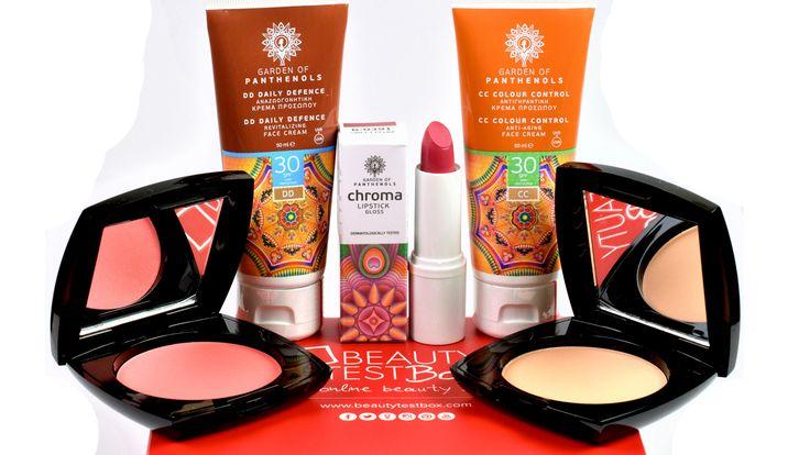 Το Garden of Panthenols #Chroma BeautyTestBox σας θέλει όμορφες και λαμπερές. Υποδεχθείτε 5 μοναδικά προϊόντα σε #Full_Size από την νέα συλλογή Chroma με #μακιγιάζ και #περιποίηση προσώπου! Το #ChromaBeautyTestBox είναι διαθέσιμο από σήμερα!🎁💖💄😘  Shop Here: https://goo.gl/AfMXjR ✔️ #beautytestbox #beautytestboxeshop #beautybox #ChromaBox #GardenOfPanthenols #5FullSize #CCcream #DDcream #powder #blush #Lipstick #makeup #chromamakeup #cosmetics #beauty #video #beautybloggers…
