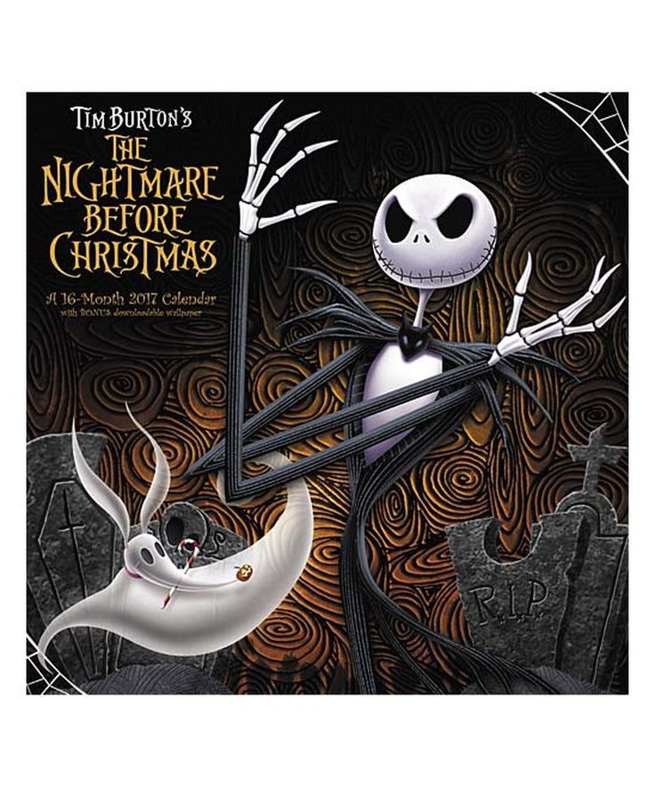 Look at this The Nightmare Before Christmas 16-Month 2017 Calendar on #zulily today!