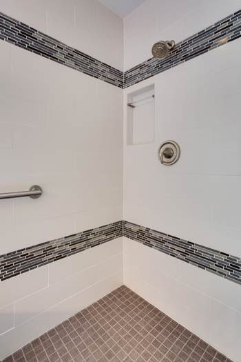 Best Bathroom Tilework Images On Pinterest Bathroom Cabinets - Bathroom remodeling woodbridge va