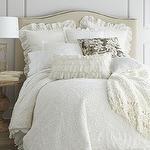 Ropa de cama - Ropa de cama Crochet - Neiman Marcus - Ropa de cama y de punto, ropa de cama elegante lamentable, ropa de cama de marfil, marfil ropa de cama,