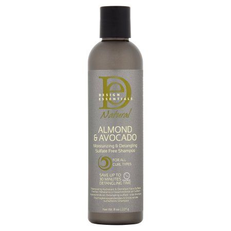 Design Essentials Natural Almond Avocado Moisturizing Detangling