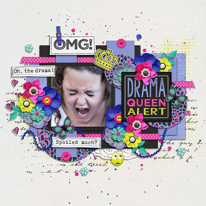 Blagovesta Gosheva-Drama Queen http://www.sweetshoppedesigns.com/sweetshoppe/product.php?productid=36880 Tinci Designs-Moments and Memories 26 Template