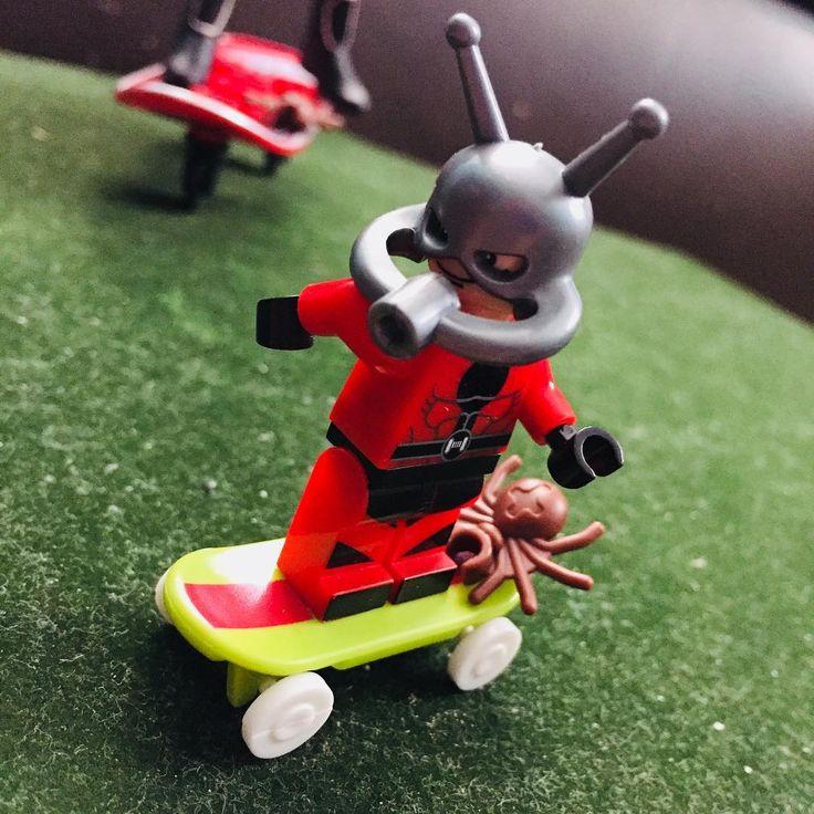 Skate Ant Man #pickabrick #legostore #lego #legos #legominifigures #legominifigs #legofun #legofan #legoaddict #legomoc #legophoto #legophotography #legocommunity #afol #afolclub #afolcommunity #brick #brickworld #brickcentral #bricknetwork #toyphotos #toyphoto #toyphotogallery @lego  #toyartistry_lego #hankpym #antman #marvel