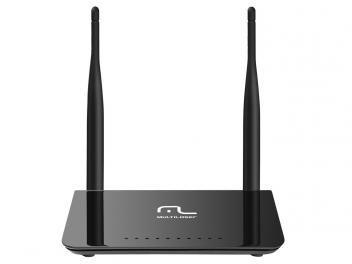 Roteador Wireless Multilaser RE075 - 300Mbps 2 Antenas 5 Portas