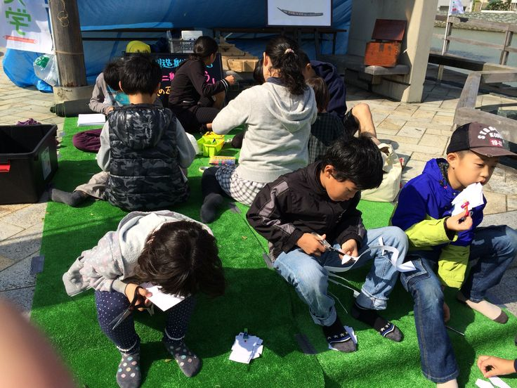 ひょうたん島博覧会:助任川造船所「私のミニ船を作ろう!」