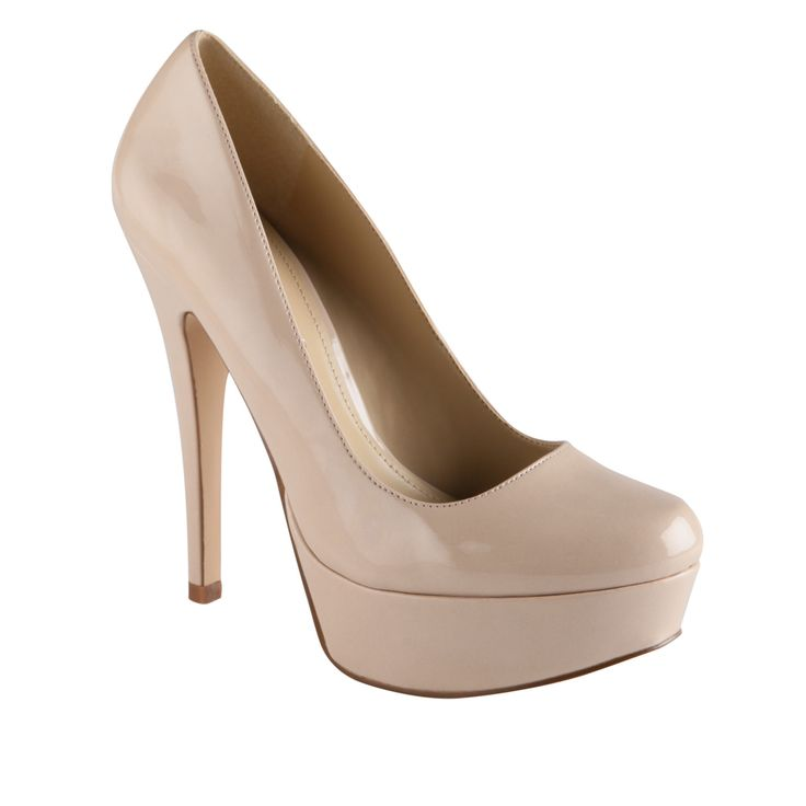 Bridesmaids - nude pump, something like this (although I would personally need a lower heel!) PRUE - womens high heels shoes for sale at ALDO Shoes.