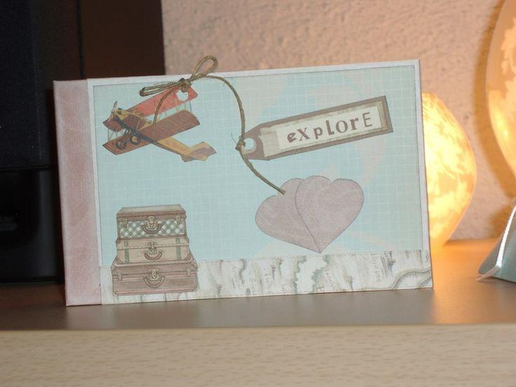 Libro+dediche-+guest+book-+Explore+di+Monica+Vittani+Handmade+su+DaWanda.com