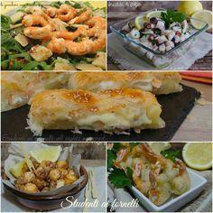Antipasti pesce Natale 2015 ricette Vigilia facili e veloci, ricette con salmone, tonno, gamberi, polpo gustose da preparare in anticipo..