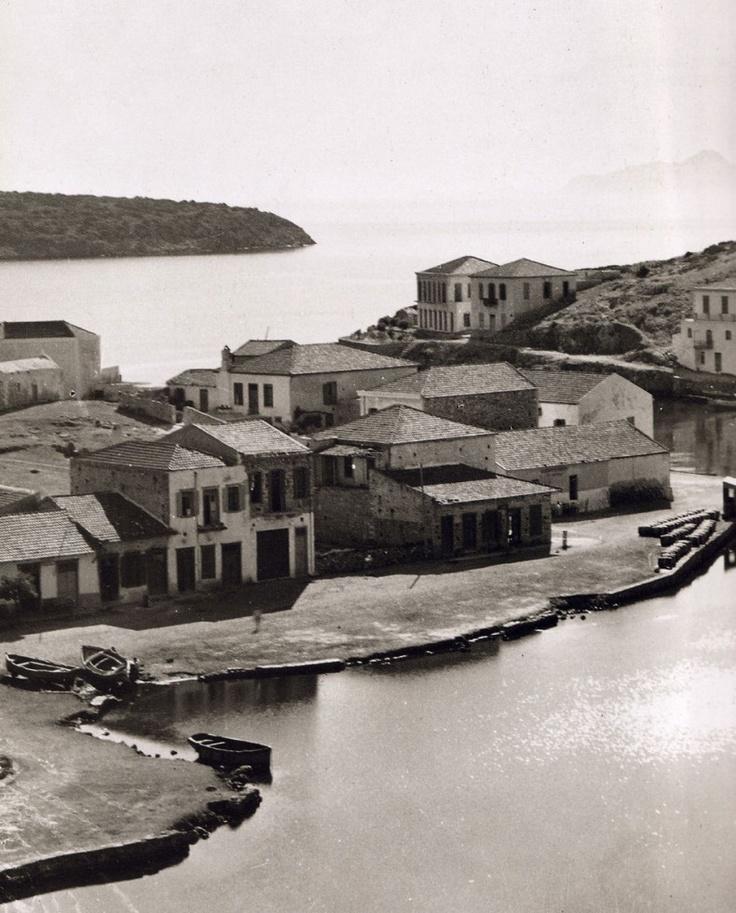 Aghios Nicolaos, Crete - Άγιος Νικόλαος. Fred Boissonnas - 1920