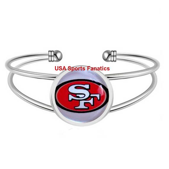 NFL - NFC West Football Team Logo Adjustable Bangle Bracelet (Lead Free) / With Free Shipping (Your Choice Pick Your Team) Shop for Your NFL - NFC West Team Logo, Adjustable Bangle Bracelet, and Support Your Team in Style. When you want to show your Teams Love, With this Beautiful