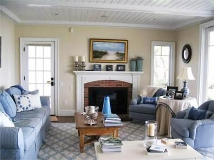 a bright and open cape cod living room